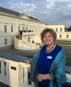 Anne in Schloss Herrenhausen am 7. 9. 171