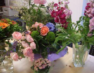 Einweihung 2017 Blumen
